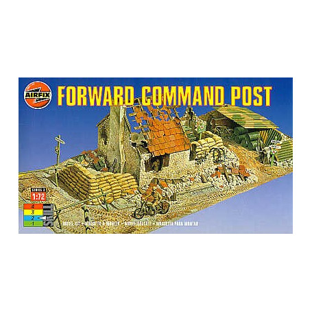 Forward Command Post Ruined building