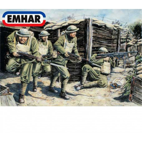 American WWI Infantry ′Doughboys′