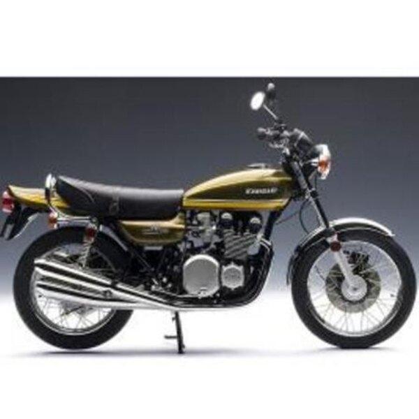 1973 KAWASAKI 750RS Z2 VERDE CON LA CINTA AMARILLA