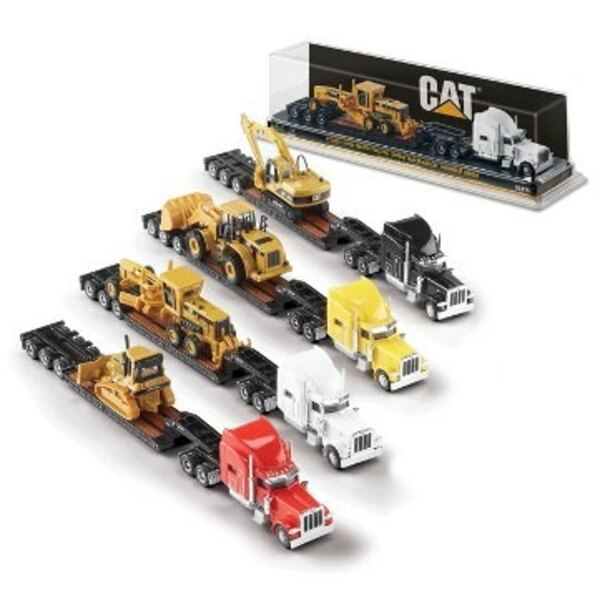 CATERPILLAR SUR PETERBILT SET 12 MODELES