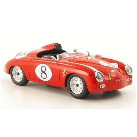 PORSCHE 356 SPEEDSTER AMERICA ROJO