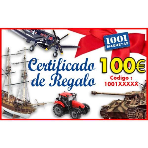 Tarjeta regalo de 100 euros