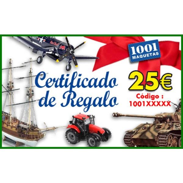 Tarjeta regalo de 25 euros