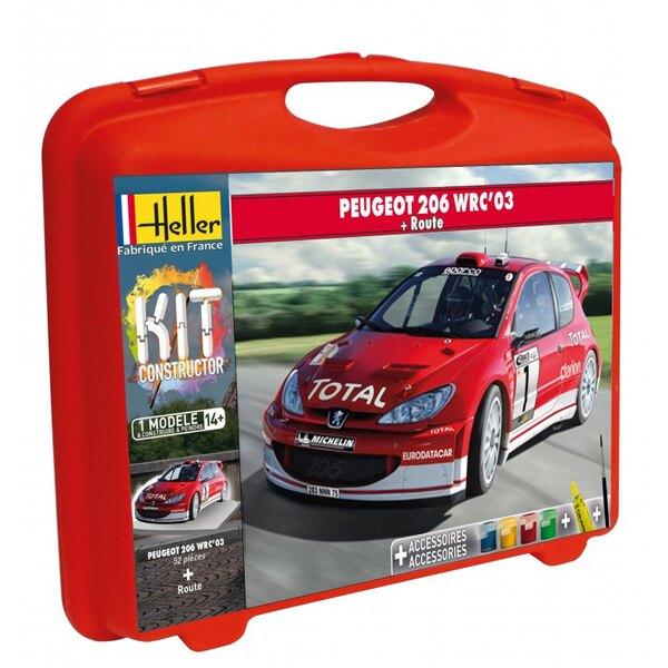 PEUGEOT 206 WRC '03 + PISTE CARRY CASE