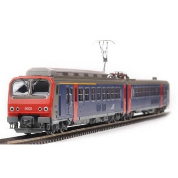 Z9602 impulsó su SNCF