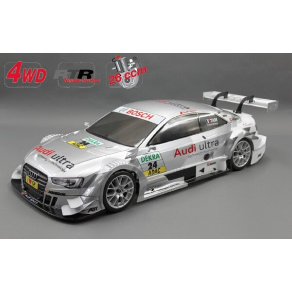 Chasis 530 4wd coche + RTR. Audi RS5