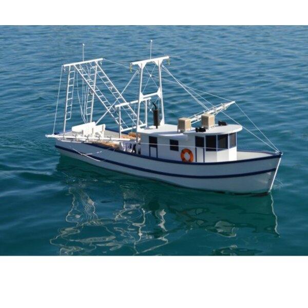 Barco oxidado camarón R / C