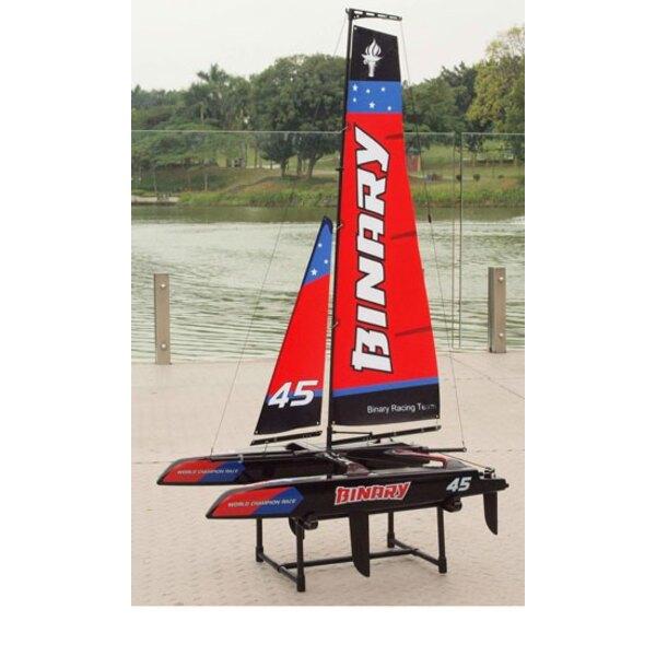 Mini Rojo Catamarán RTS