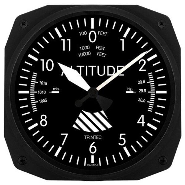 Altímetro clásico de la pared del reloj 25x25cm