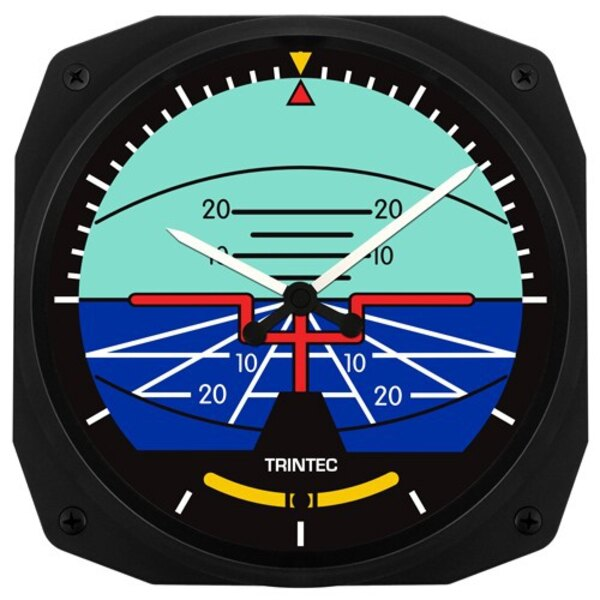 Artificial 25x25cm reloj de pared Horizonte