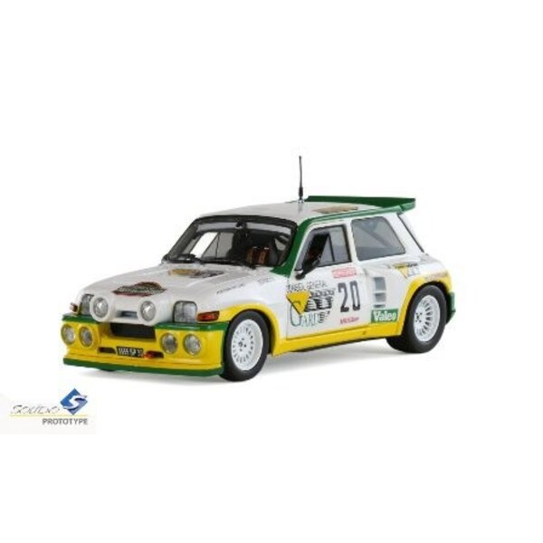 RENAULT 5 MAXI TURBO 20 RALLY 1986 Garrigues