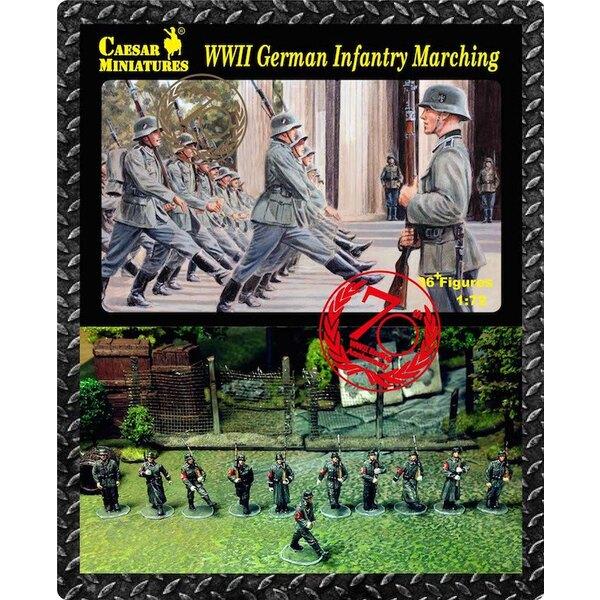 Alemán infantería en marcha (Segunda Guerra Mundial) x 36 cifras