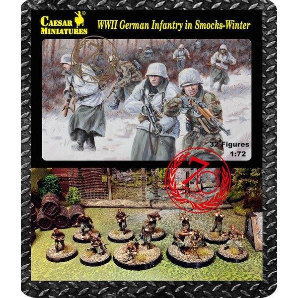Infantería alemán que llevaba batas de invierno (Segunda Guerra Mundial) x 32 cifras