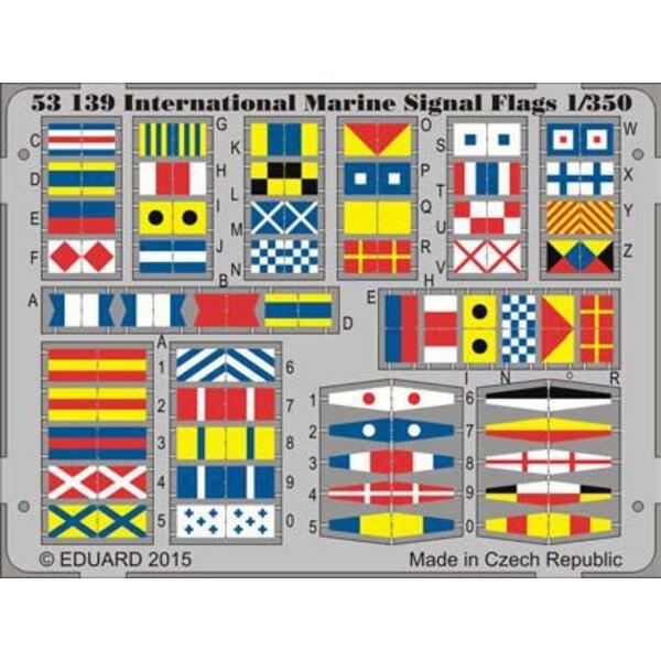 Banderas de señal International Marine