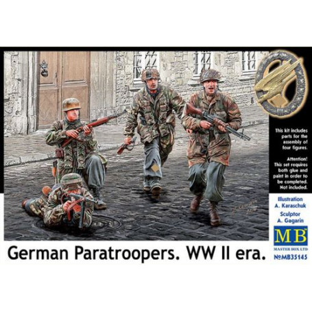 Alemán paracaidistas Segunda Guerra Mundial