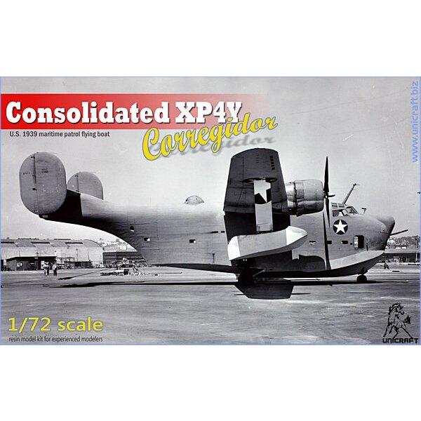 Consolidada XP4Y Corregidor, US 1939 de patrulla marítima hidroavión