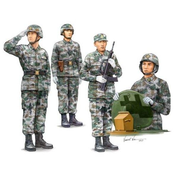 PLA tripulación del tanque