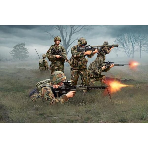 Infantería británica moderna