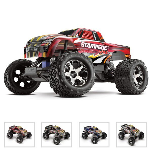 STAMPEDE - 4x2 - 1/10 VXL BRUSHLESS - Red inalámbrica