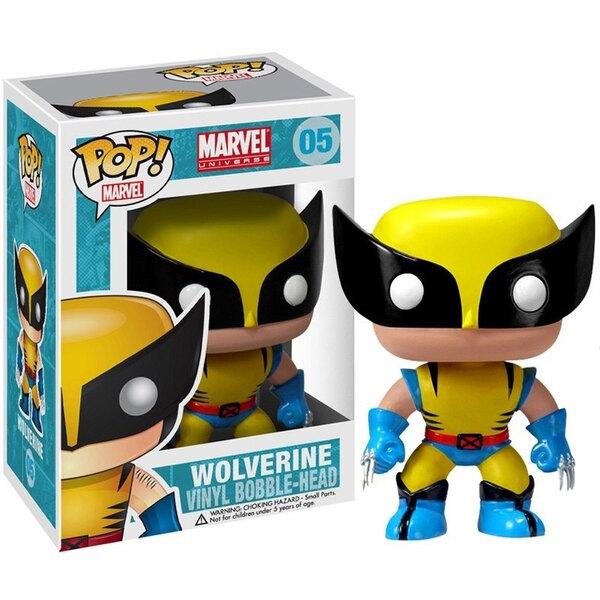 Marvel Comics POP! Vinyl Cabezón Wolverine 10 cm