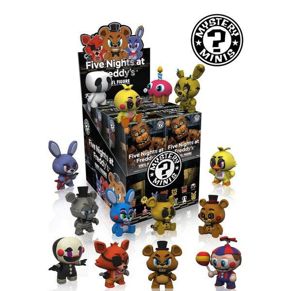 Five Nights at Freddy's Mystery Minifiguras 6 cm Expositor (12)