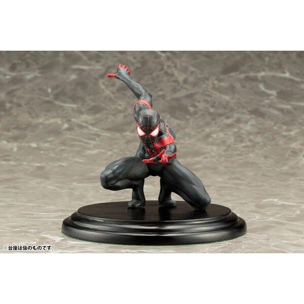Marvel Now! Estatua PVC ARTFX+ 1/10 Spider-Man (Miles Morales) 11 cm