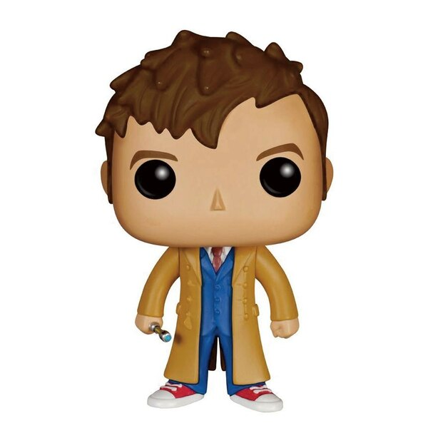 Doctor Who Figura POP! Television Vinyl 10th Doctor 9 cm