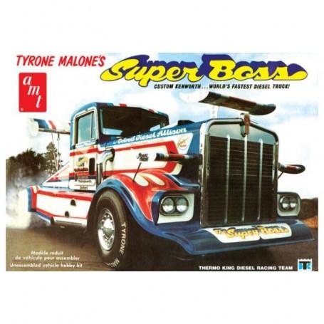 Camión Arrastre Tyrone Malone Kenworth Boss estupendo