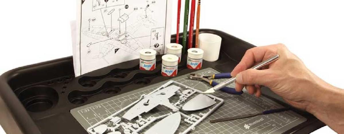 Pintura para maquetas y accesorios para modelistas