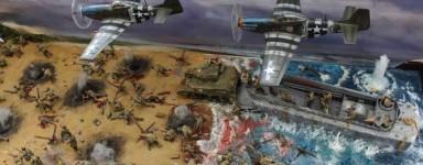 Maquetas del D-Day