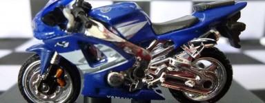 Miniaturas de motocicletas Diecast