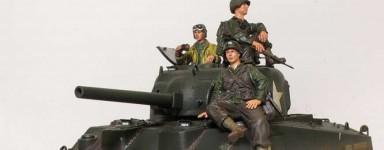Miniaturas de vehículos militares Diecast