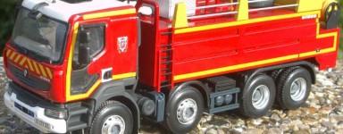 Miniaturas de bomberos Diecast
