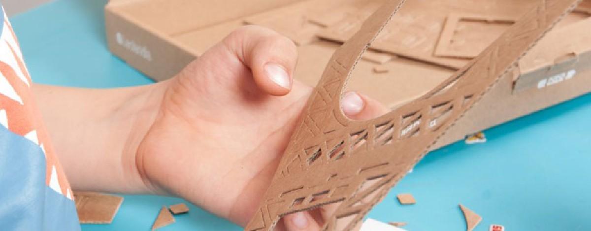 Maquetas de cartón