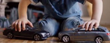 Miniaturas de camiones y coches