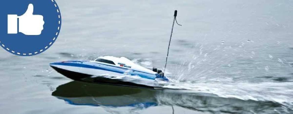 Nuestra selección de barcos RC, radiocontrol: lancha motora - radiocontrol - Todos los productos de la categoría nuestra selec