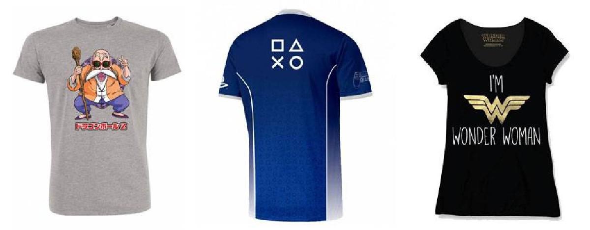 Camisetas, camisetas - productos derivados - Todos los productos de la categoría camisetas con 1001hobbies.es